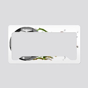 Soccer Ball Flames World Cup  License Plate Holder