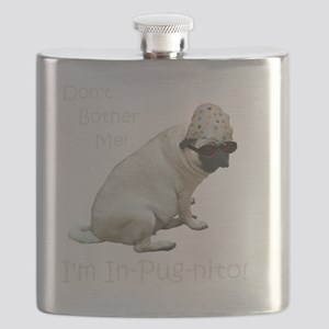 Funny In-Pug-nito! Pug Dog Flask