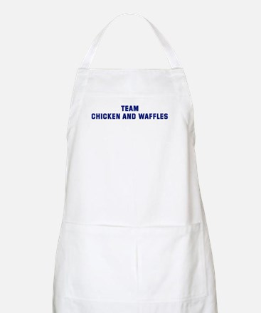 Team CHICKEN AND WAFFLES BBQ Apron