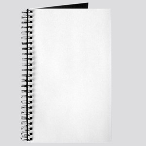 QSF Fencer Silhouette White Journal