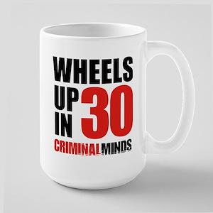 Wheels Up In 30 15 oz Ceramic Large Mug