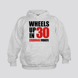 Wheels Up In 30 Kids Hoodie