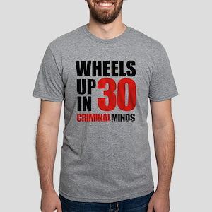 Wheels Up In 30 Mens Tri-blend T-Shirt
