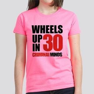 Wheels Up In 30 Women's Dark T-Shirt