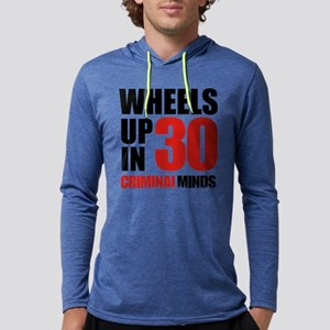 Wheels Up In 30 Mens Hooded Shirt