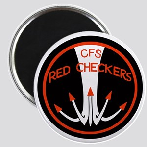 RNZAF Red Checkers Magnet