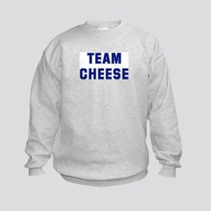 Team CHEESE Kids Sweatshirt