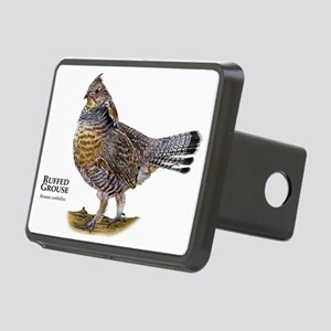Ruffed Grouse Rectangular Hitch Cover