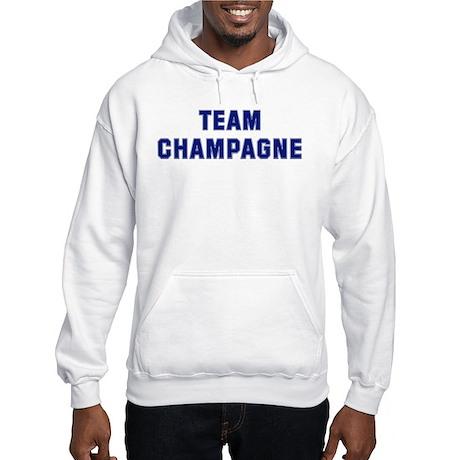 Team CHAMPAGNE Hooded Sweatshirt