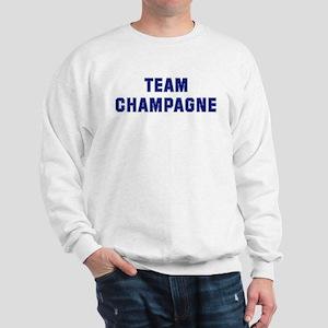 Team CHAMPAGNE Sweatshirt
