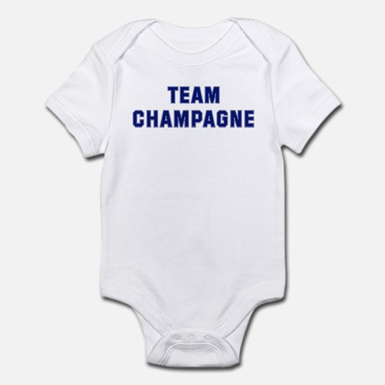 Team CHAMPAGNE Infant Bodysuit