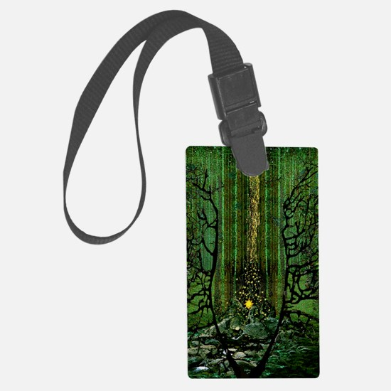 Prayer for the Forests poster Luggage Tag