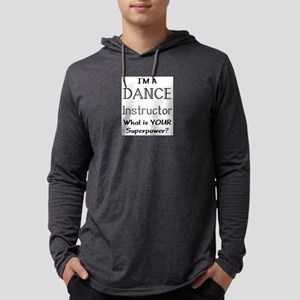 dance instructor Mens Hooded Shirt