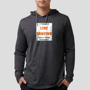 teach line dance Mens Hooded Shirt