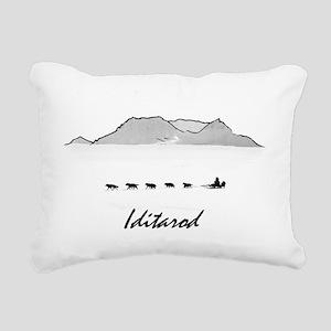 Iditarod Rectangular Canvas Pillow
