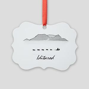 Iditarod Picture Ornament