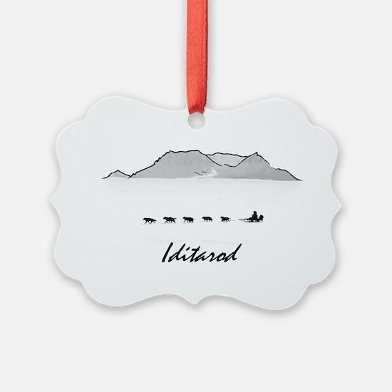 Iditarod Ornament