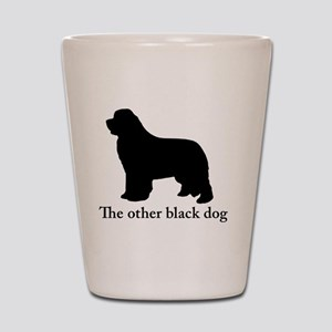 Newfoundland : The other black dog Shot Glass