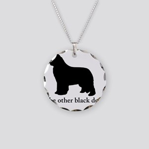 Newfoundland : The other bla Necklace Circle Charm
