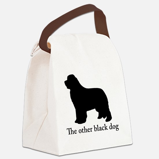 Newfoundland : The other black do Canvas Lunch Bag