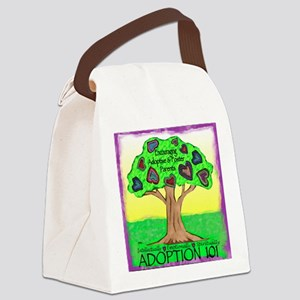 Adoption 101 Canvas Lunch Bag