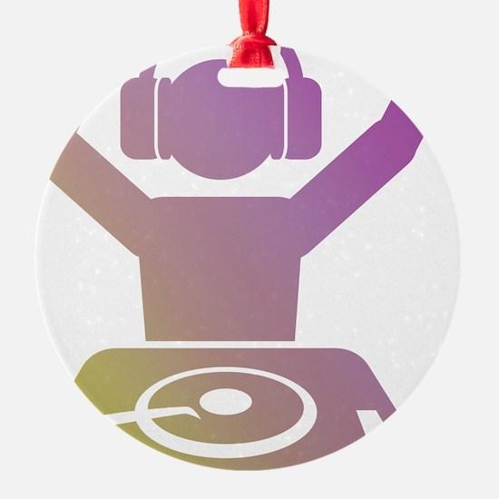 Colorful DJ Ornament