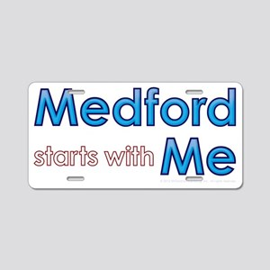 Medford Starts With Me Aluminum License Plate