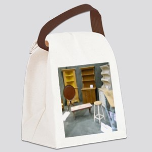 China Cabinets For Dollhouse Canvas Lunch Bag