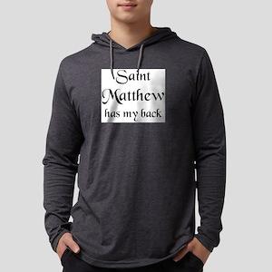 saint matthew Mens Hooded Shirt