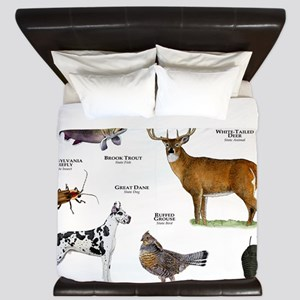 Pennsylvania State Animals King Duvet