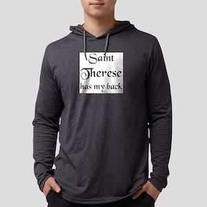 saint therese Mens Hooded Shirt