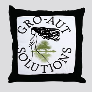 Gro-aut Throw Pillow