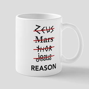 Zeus to Reason Mug