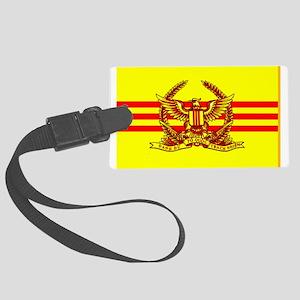 South Vietnamese Army Luggage Tag