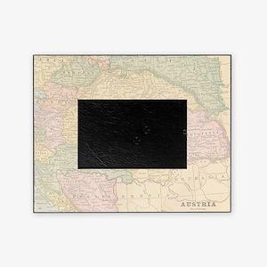 Vintage Austria Map Picture Frame
