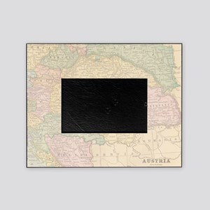 Vintage Austria Map Picture Frame