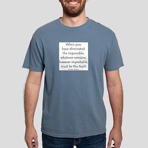 holmes eliminated Mens Comfort Colors Shirt