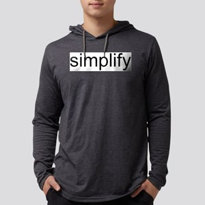 simplify Mens Hooded Shirt