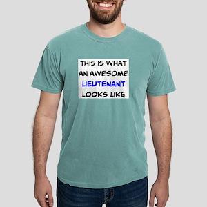 awesome lieutenant4 Mens Comfort Colors Shirt