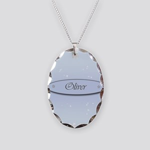 Oliver Necklace Oval Charm