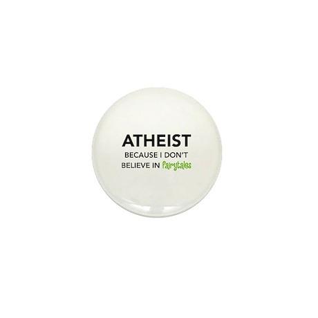 Atheist vs. Fairytales Mini Button