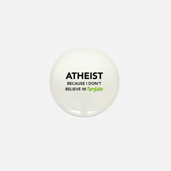 Atheist vs. Fairytales Mini Button