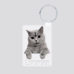 LUCIPURR Aluminum Photo Keychain