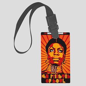 High Priestess of Soul Large Luggage Tag