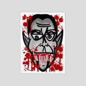 Bloody Dracula 5'x7'Area Rug