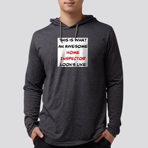 awesome home inspector Mens Hooded Shirt