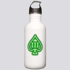 Three Percent - Spade  Stainless Water Bottle 1.0L