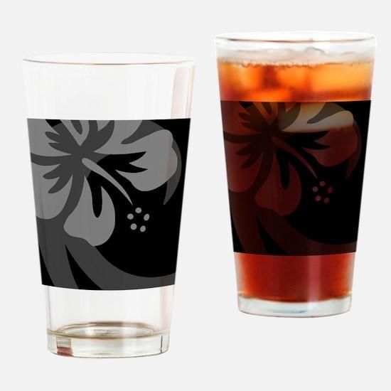 Black Stadium Blanket Drinking Glass