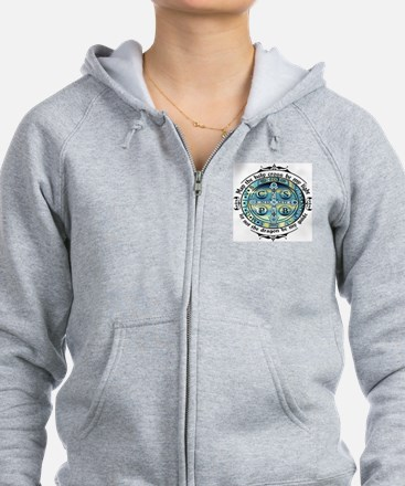 Medal of St Benedict Zipped Hoody
