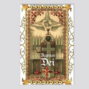 Agnus Dei Blood in the Ch Postcards (Package of 8)